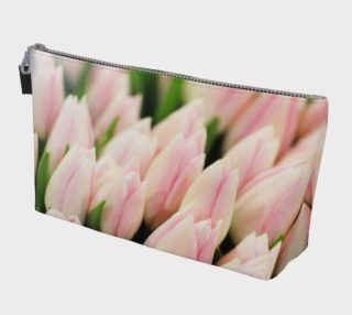 Aperçu de Blush Tulips Makeup Bag