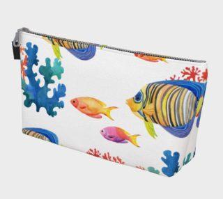 Aperçu de Coral Reef 4 Makeup Bag