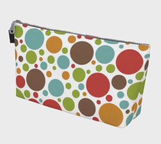 Aperçu de Modern Dots Makeup Bag