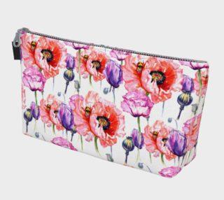 Aperçu de Poppy Fields Makeup Bag