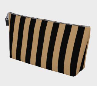 Aperçu de Black and Camel Brown Stripes