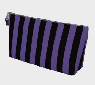 Aperçu de Black and Ultra Violet Purple Stripes
