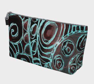 Crazy Swirls Makeup Bag preview