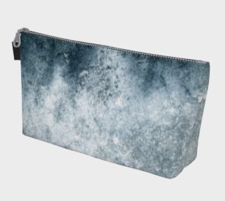 Aperçu de Blue Grunge Makeup Bag