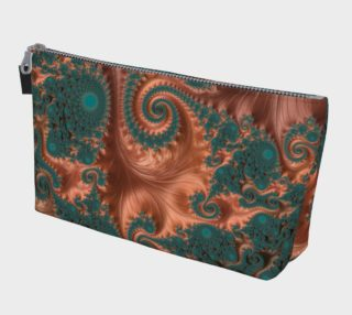 Copper Leaves Make Up Bag preview