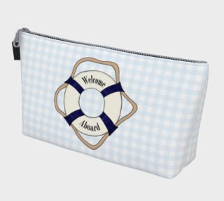 Welcome Aboard Makeup Bag preview