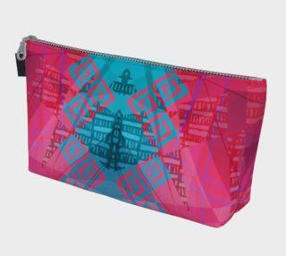Pink Doodles Makeup Bag preview