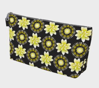 Design Flowers Blanco Negro Dots preview