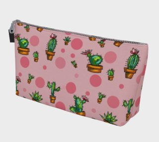 Pochette cactus fond rose preview