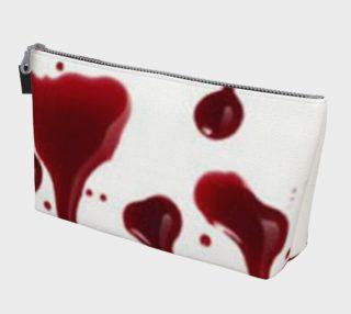 Blood Splatter four makeup bag preview