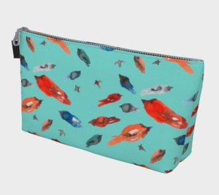 Trousse Fish-Birds Turquoise preview
