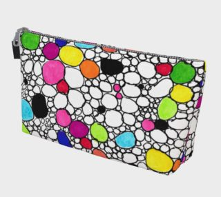 Colored Circles and  Other Shapes make-up bag preview