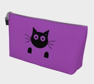 Purple Cat Makeup Bag preview