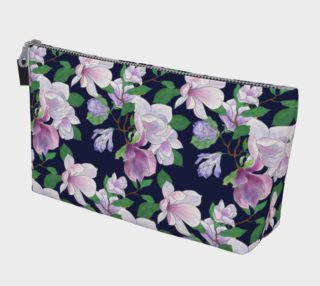 Magnolia Floral Frenzy Makeup Bag preview