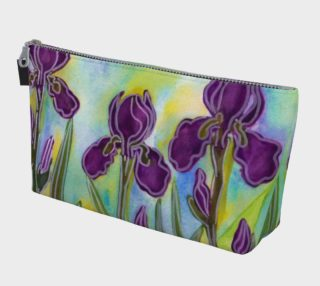 Stylized Irises Makeup Bag preview