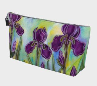 Aperçu de Stylized Irises Makeup Bag