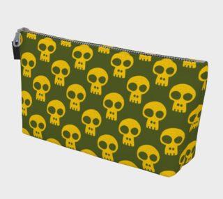 Yellow Skulls on Green aperçu