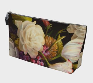 Winter Floral Makeup Bag preview