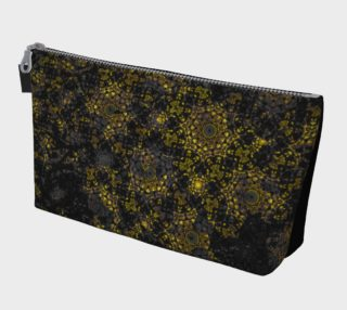 Aperçu de Gold Reign Make-up Bag