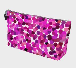 Pink Tone Haze MakeUp Bag preview