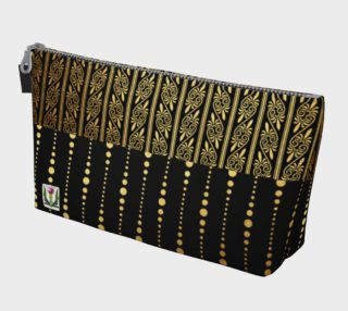 Fairlings Delight's Art Deco Zipper Makeup Bag 53086A2 preview