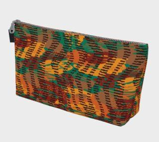 Abstract Animal Stripes Makeup Bag preview