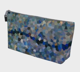 Blue Line Mosaic Makeup Bag preview