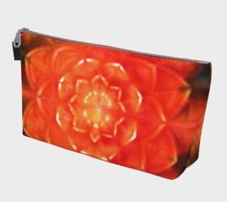 Orange Lotus Makeup Bag preview