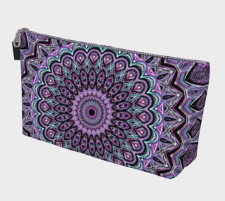 Blackberry Bliss Mandala Make Up Bag preview