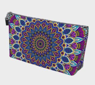 Sapphire Mandala Make Up Bag preview