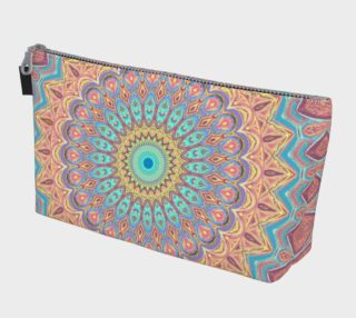 Jewel Mandala Faded Make Up Bag preview