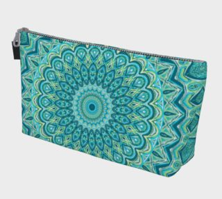 Tasty Turquoise Mandala Make Up Bag preview