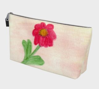Red Daisy Makeup Bag preview