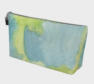 Flowers in Stained Glass Makeup Bag preview