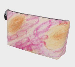 Pink Flowerets Makeup Bag preview