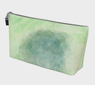 Green Dimension Flower Makeup Bag preview