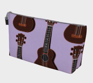 Ukulele Rains Purple Make up Bag preview