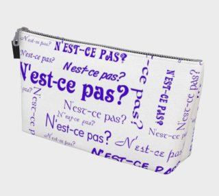 Purple N'est-ce Pas Makeup Bag preview