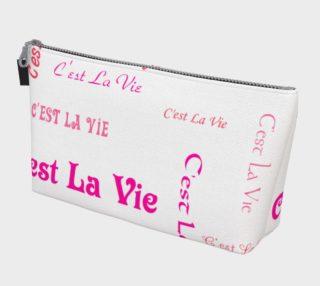 Fuchsia C'est la Vie Makeup Bag preview