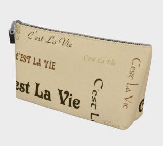 Coffee C'est la Vie Makeup Bag preview
