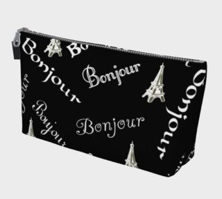 White Bonjour Makeup Bag preview
