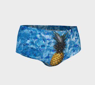 Blue Pineapple Mini Shorts preview