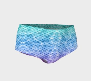 Mystic Mermaid Mini Shorts preview