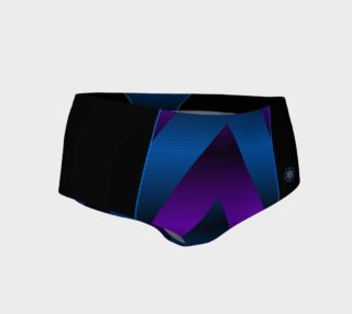 Ombre Stripe Black Violet Blue preview