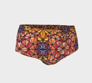 Amber Kaleidoscope Mini Shorts preview