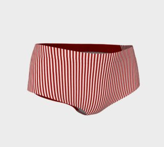 A red striped lace pattern preview