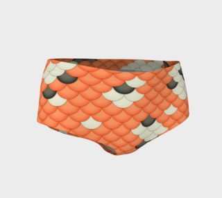 Koi Mermaid Mini Shorts preview