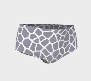 staklo (gray/white) mini shorts preview