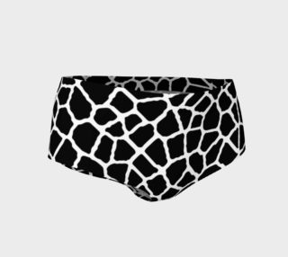 staklo (black/white) mini shorts preview