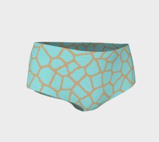 staklo (aqua/coffee) mini shorts preview